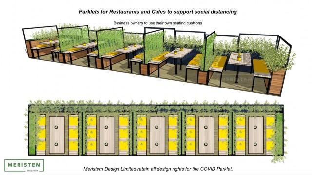 Parklet Design By Meristem Design