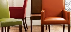 Leather Dining Armchairs