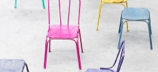 Coloured Pub Chairs