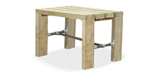 All Wood Outdoor Tables