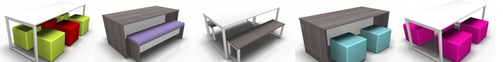 Bench Canteen Dining Sets