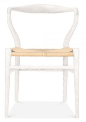 Katcut Dining Chair Front Shot White Frame
