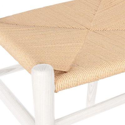 Katcut Chair White Seat Detail View