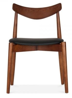 Chepstow Dining Chair Walnut Frame Front View