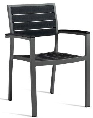 Fiesta Likewood Aluminium Armchair