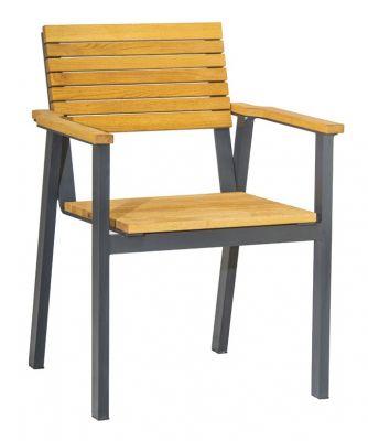 Traxa Outdoor Teak Armchair