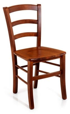 Marko Wooden Dining Chairs In Light Walnut