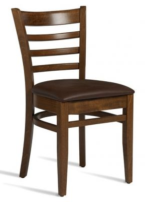 Devon PLus Dining Chair With A Dark Walnut Finish