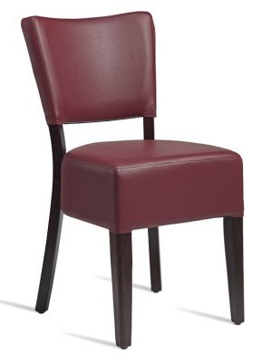 Rosie V3 Dining Chair Wine Leather