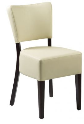 Rosie V3 Express Cream And Walnut Dining Chair