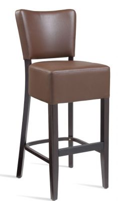 Rosie V2 Brown Leather High Stools