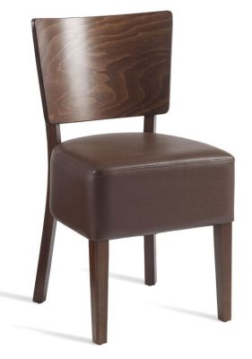 Rebecca Brown Leather Dining Chairs