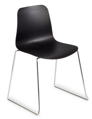 Sisco Designer Plastic Shell V2 Black Shell