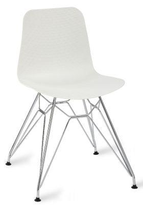 Sisco Designer Cafe Chair Wit A White Shell V3
