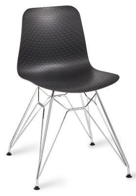Sisco Designer Cafe Chair With A Black Shell V3