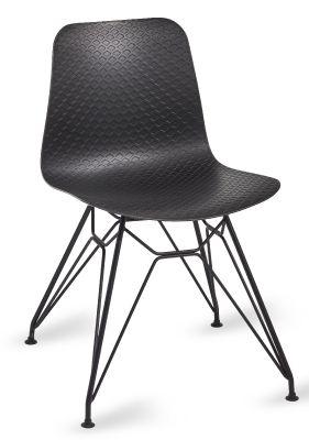Sisco Chair With A Black Frame V4