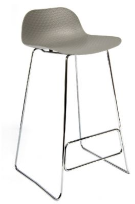 Sisco Designer High Stool Grey Seat