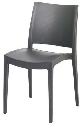 Lyon Poly Chair Black