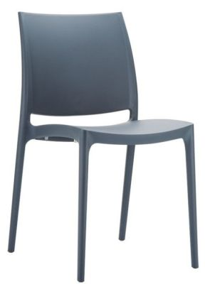 Maya Chair Dark Grey