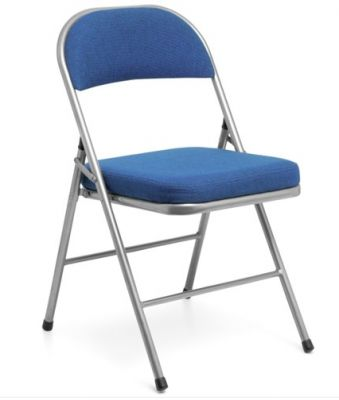 Univeral Comfoprt Plus Folding Chair In BLue