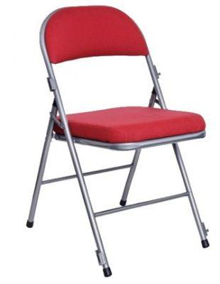 Universal Plus Comfort Folding Chair Burgundy