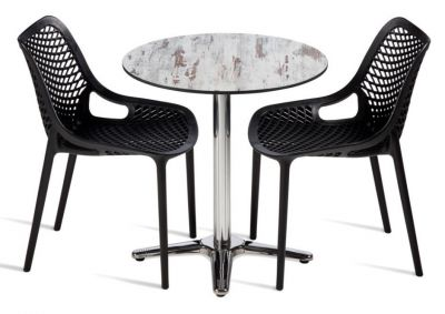 Sudra Two Person HPL Outdoor Dining Set