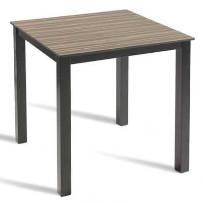 Geo Outdoor HPL Table Wit A Zebrano Top