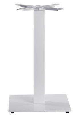 Moza Medium Square Table Base In White