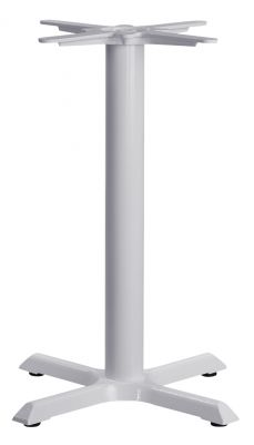 Tampa Small Table Base In White