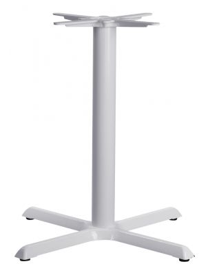 Tampa Medium Table Base In White