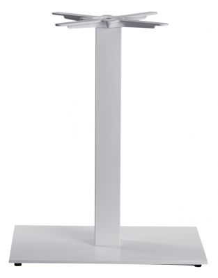 Moza Single Pedestal Table Base In White