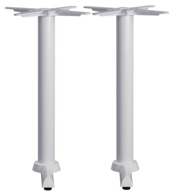 Tampa Twin Table Base In White