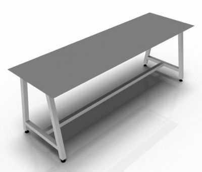Naper 18mm MFC Bench Graphite