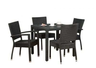 Tempa All Weather Weave Dining Set
