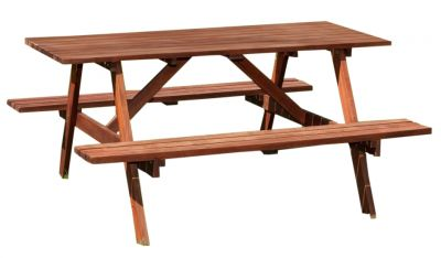 Bridford Six Seater Picnic Table