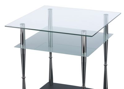 Presto Square Glass Coffee Table