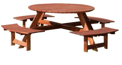 Bickley 8 Seater Outdoor Picnic Table