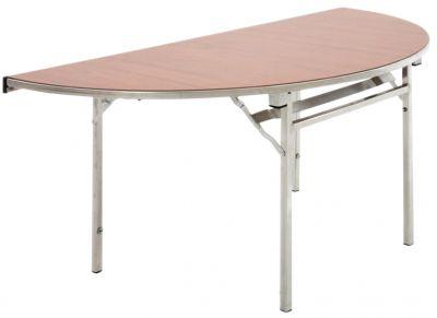Easy Lift Semi Circular Folding Table
