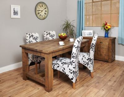 Harvey Rough Sawn Dining Table 1