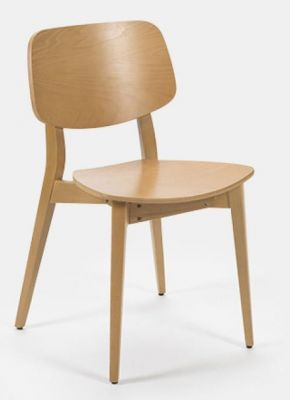 Jupe Contemporary Dining Chair - Coloured Finishes 3