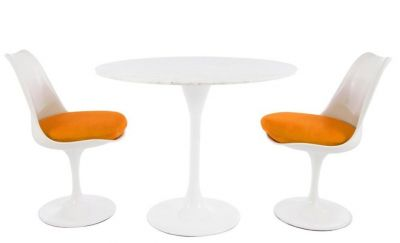 Reaturant Dining Set Marble Top Colour Seat