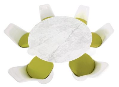 Bright Colour Restaurant Dining Table Chairs