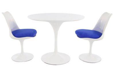 Blue Cushion Designer Restaurant Seating