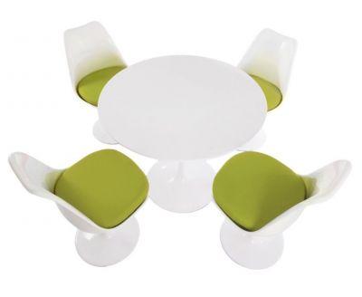Brightly Coloured Seating Designer Restaurant