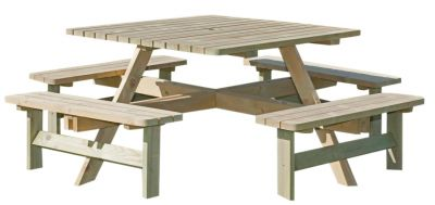 Porte 8-12 Seater Picnic Table