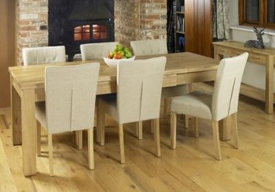 Warminster Extendable Solid Oak Dining Table 1