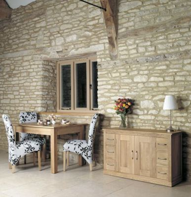Warminster Four Seater Solid Oak Table