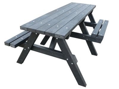 West Chunky Picnic Tables With Wheelchair Access