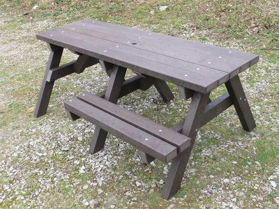 West Chunky Picnic Table With Wheelchair Access