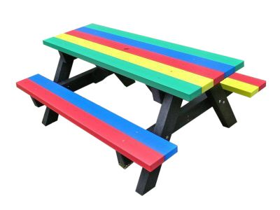 West Coloured Childrens Picnic Table